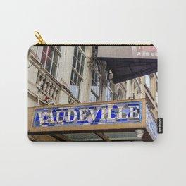 Vaudeville Theatre Carry-All Pouch