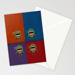 Screaming Turtles Stationery Cards