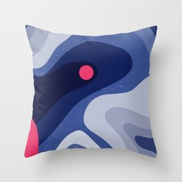 Dot | Happy modern Art Throw Pillow