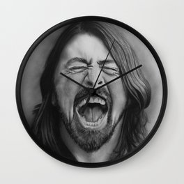 Dave |Graphite Pencil Wall Clock