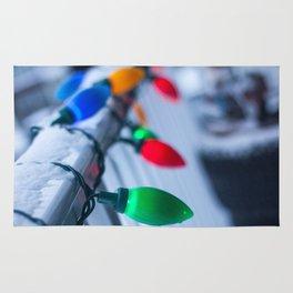 Christmas Decorations Photography Print Rug