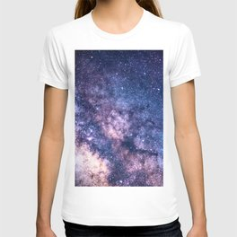 Purple Star Galaxy T-shirt