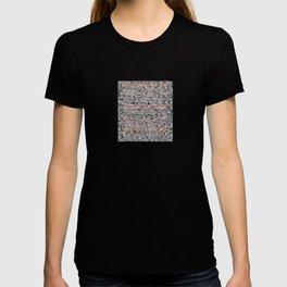 Gray and Pink Haze T-shirt