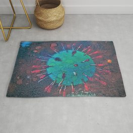 Virus 2020 Abstract  ( Limited 01 / 50#) Rug