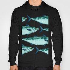 mackerel pattern Hoody