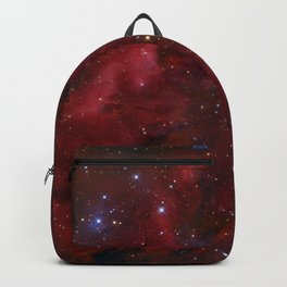Deep Red Universe Backpack