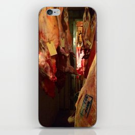 Meat store iPhone Skin