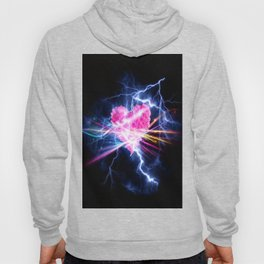 electric heart Hoody