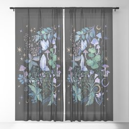 Mystical Garden Sheer Curtain