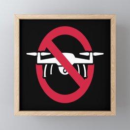 Drone Zone Framed Mini Art Print