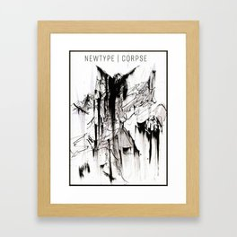 Newtyp_ Framed Art Print