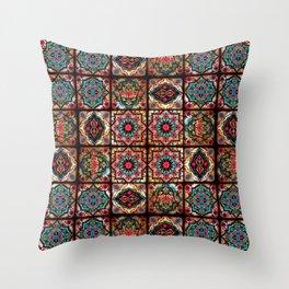 (N3) Epic Vintage Original Moroccan Artwork. Throw Pillow