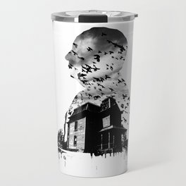 Alfred Hitchcock Travel Mug