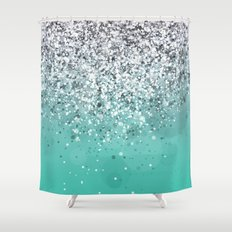 Spark Variations I Shower Curtain