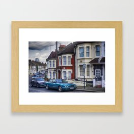 Clapham Suburbs. London Framed Art Print