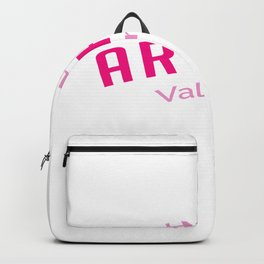 Hello Arthur Valentine In A Relationship Gift Backpack