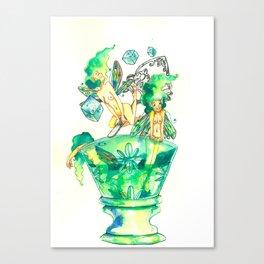 Absinthe Fairies Canvas Print