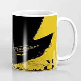Vintage poster - Black Cat Coffee Mug