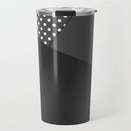 Grey abstract abstract Travel Mug