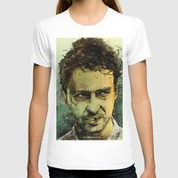 movie T-shirts featuring Schizo - Edward Norton by Fresh Doodle - JP Valderrama
