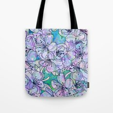 Over and Over Flowers Tote Bag