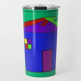 Take Out House Travel Mug