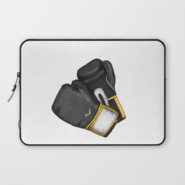 For the love of Boxing // BLACK & YELLOW Laptop Sleeve