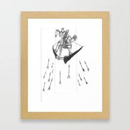 S1: The Rabbit! Framed Art Print