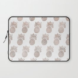 Rose gold pineapples Laptop Sleeve