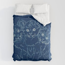 Cerberus as a Kitten Comforters
