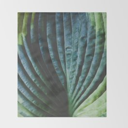 Leaf Throw Blanket