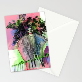 haute ghost Stationery Cards