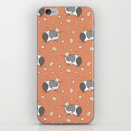 Guinea pig Pattern, Popcorning iPhone Skin