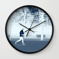 run Wall Clocks featuring run by habish