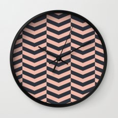 Pattern LP Wall Clock