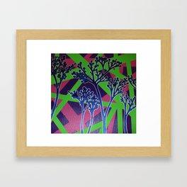 Abstract Flower-2 Framed Art Print