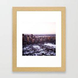Above Our Minds Framed Art Print