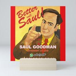 Better Call Saul Print Mini Art Print