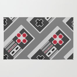 Retro Video Game Pattern Rug