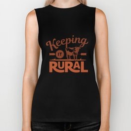 Keeping it Rural - Farm Style Biker Tank