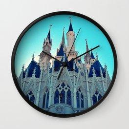Castle Architecture Closeup 1 Wall Clock