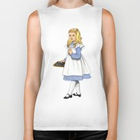 toddler Biker Tanks featuring Alice by Tom Tierney Studios