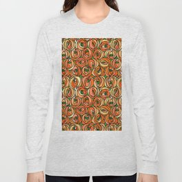 "Charles Rennie Mackintosh ""Roses and teardrops"" edited 6. Long Sleeve T-shirt"