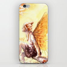 Autumn faery iPhone & iPod Skin