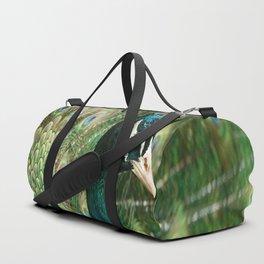Peacock Portrait Duffle Bag