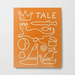 Tale - GD Narrative Metal Print