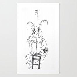 La Cucaracha Art Print