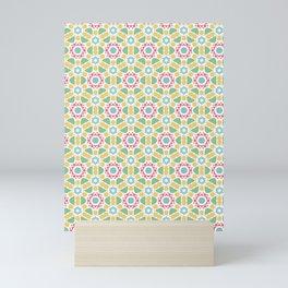 Cheerful pattern Mini Art Print