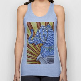 Super Senior Elephante Unisex Tank Top
