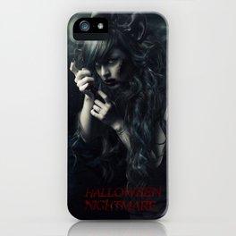 Halloween Nightmare Art iPhone Case